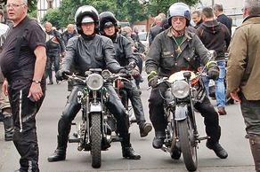 Rund um Bad Münstereifel – Internationale Ausfahrt  Motorräder bis Baujahr 1939 – historische Motorräder am Start