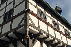 Kobern-Gondorf – Abteihof, das älteste Fachwerhaus in Rheinland-Pfalz