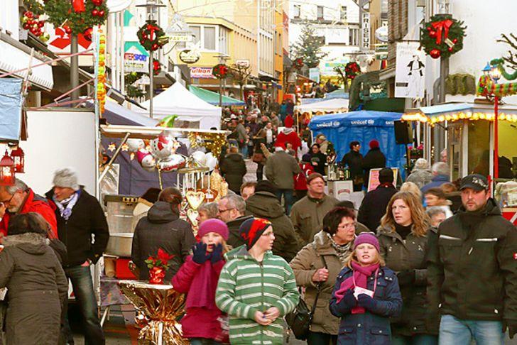 Weihnachtsmarkt Gerolstein am 3. Advent © Foto www.gerolsteiner-land.de