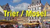 Button Innenstadt mit Text Trier / Mosel