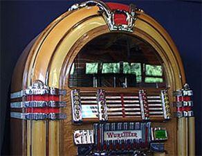 Musikbox Wurlitzer 1015 aus den 50er-Jahren
