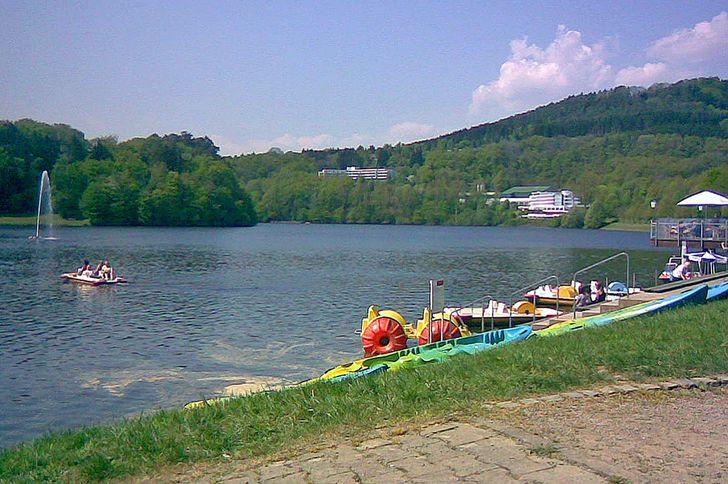Stausee Biersdorf bei Bitburg – Liegewiesen