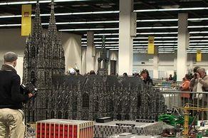 Lego-Fanwelt – Kölner Dom aus Lego-Steinen