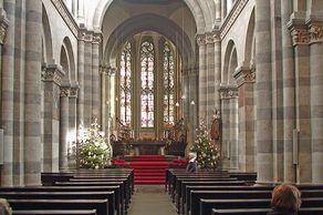 St. Andreas – Chorraum der romanischen Kirche in Köln