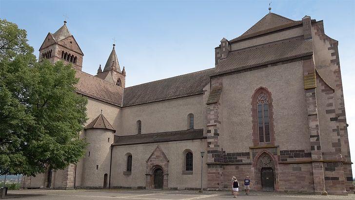 Das imposante Breisacher Stephansmünster auf dem heutigen Münsterberg.