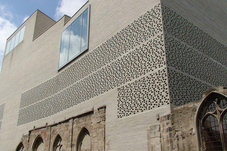 OLUMBA – Kunstmuseum des Erzbistums Köln – Fassadendetail