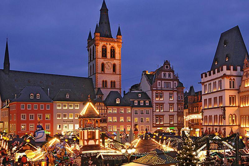 Weihnachtsmarkt In Trier.Weihnachtsmarkt Trier Rhein Eifel Tv