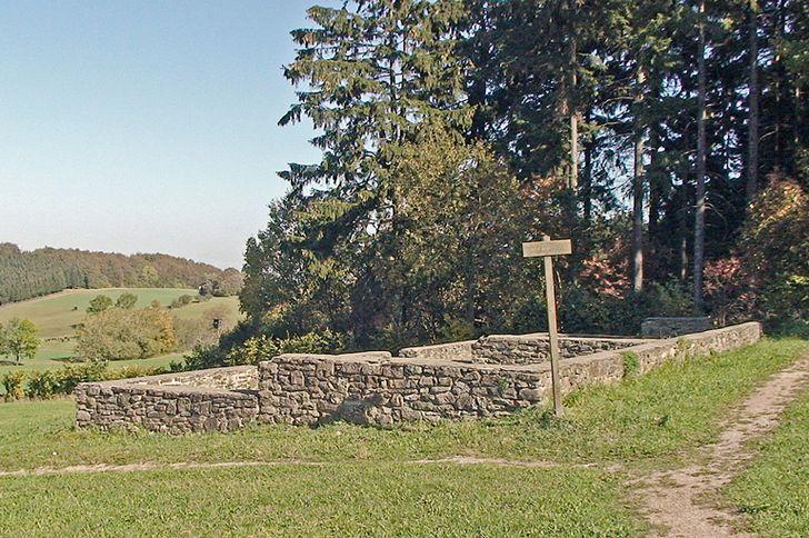 Villa Rustica bei Roderath - Reste eines römischen Bauernhofs
