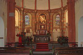 Kloster Niederehe – Chorraum der Kirche