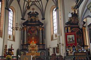 Bad Münstereifel – Innenraum der Jesuitenkirche St. Donatus