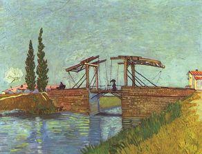"""Wallraf-Richartz-Museum – """"Die Brücke bei Arles"""" von Vincent van Gogh in der Abteilung der Klassischen Moderne"""