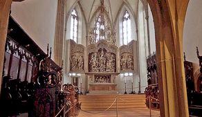 Breisacher Stephansmünster – von 1523 bis 1526 geschnitzter Hochaltar aus Lindenholz von Meister H.L.