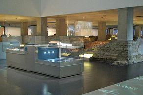 Römerthermen Zülpich – Blick in den Ausstellungsraum