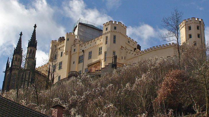 Schloss Stolzenfels am Rhein bei Koblenz