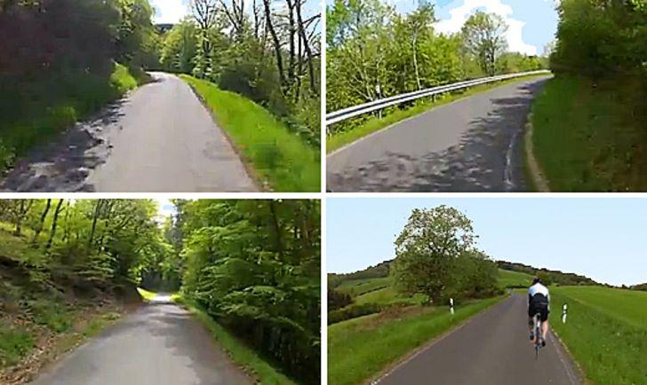 Bergzeitfahren für Jedermann von Fuchshofen nach Reifferscheid / Eifel