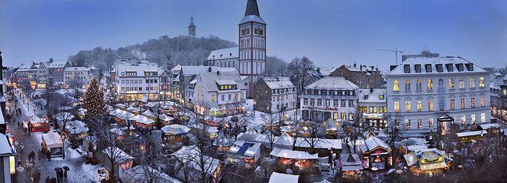 Weihnachtsmarkt in Siegburg – Mittelalterlicher Markt © Foto Holger Arndt