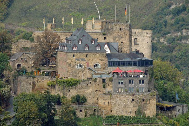 Burg Rheinfels ist die größte Burganlage im Oberen Mittelrheintal