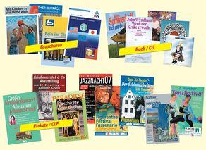 Plakate, Buch- & CD-Cover von ARTart
