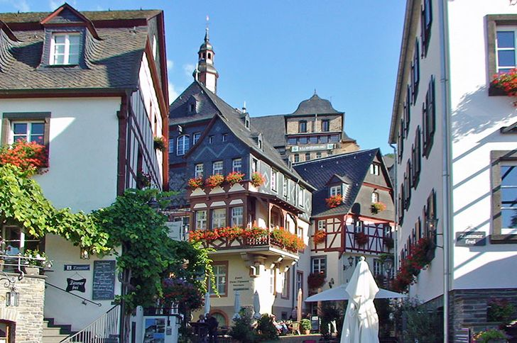 Beilstein – historische Häuser im Zentrum