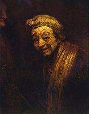 """Wallraf-Richartz-Museum – """"Selbstbildnis"""" von Rembrandt (1668)"""