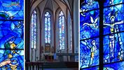 Mainz – die Chagall-Fenster in St. Stephan