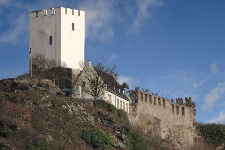 Burg Sterrenberg im Oberen Mittelrheintal