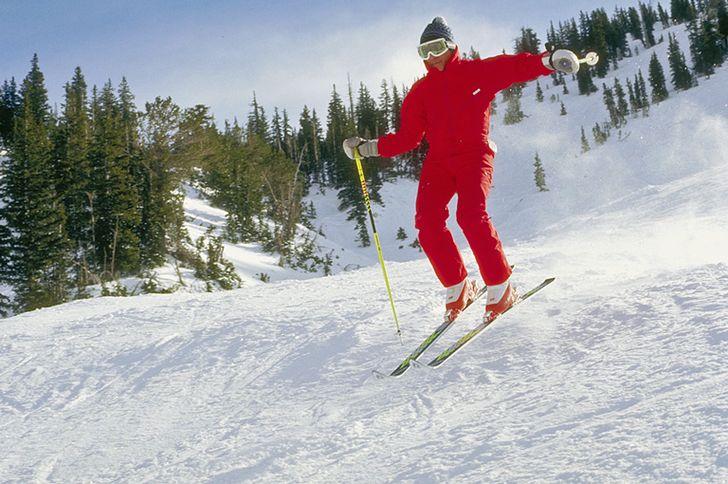 Skifahren in der Eifel