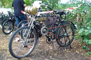 Internationale Pionierfahrt Rheinland - Clement Autocyclette, Baujahr 1901