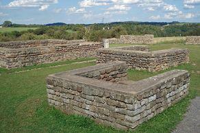 Reste eines römischen Tempels bei Nettersheim