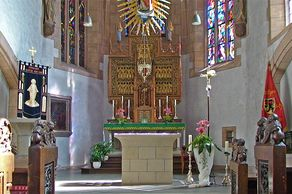 Blankenheim – Kirche St. Mariä Himmelfahrt – Innenraum