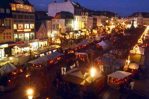 Weihnachtsmarkt in Siegburg – Mittelalterlicher Markt © Foto Stadt Siegburg