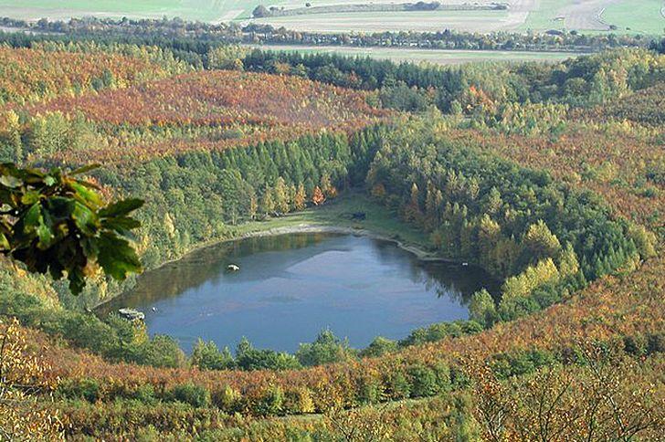 Waldsee Kruft – nur für Naturliebhaber geeignet. Foto © Geminde Kruft