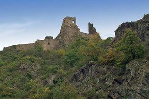 Burg Are bei Altenahr – Ansicht von Süden