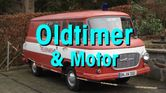 Button Oldtimer mit Text Oldtimer & Motor