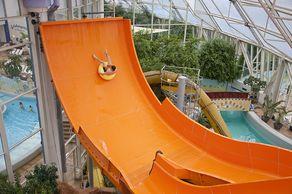 Köln – Aqualand – Boomerang-Rutsche © Aqualand Koeln