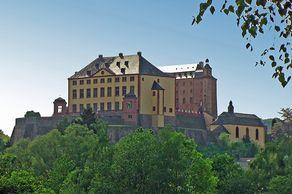 Schloss Malberg im Kylltal in der Südeifel
