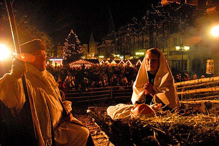 Weihnachtsdorf in Andernach © Foto Weihnachtsmarkt Andernach