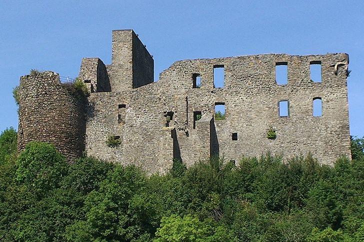 Virneburg – Ruine im gleichnamigen Ort