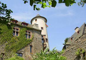 Neuerburg – die Burg, einst ein mächtiges Bollwerk