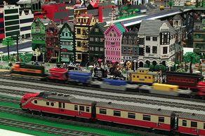 LEGO Fanwelt – ein Eisenbahn-Panorama von 2012