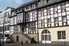 Schleiden – Fachwerkhäuser im Zentrum