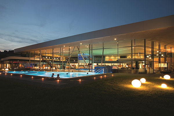 Emser Therme – Aussenbereich © Foto Emser Therme