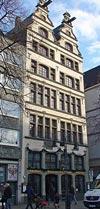 """Brauhaus """"Zum Prinzen"""" am Alter Markt im historischen Haus """"Zur Brezel"""