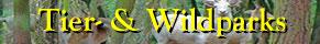 Wildschweine mit Typo Wild- und Naturparks