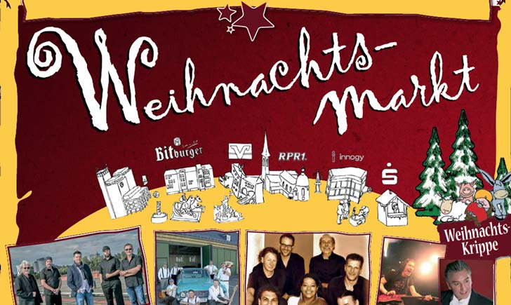 Weihnachtmarkt Bitburg - Plakat